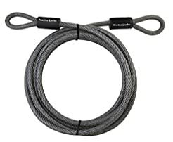 Master Lock Cable, Steel Cable With Loop...