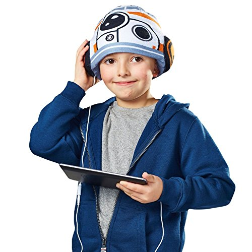 Worlds Apart Star Wars BB-8 Headphone Hat - Kids' Headphones (Dispatched From UK)