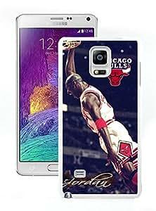 Beautiful Designed Case With Michael Jordan White For Samsung Galaxy Note 4 N910A N910T N910P N910V N910R4 Phone Case