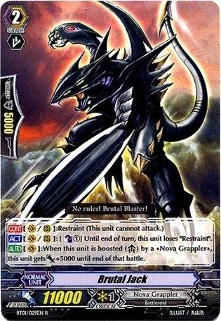 TCG - Brutal Jack (BT01/029EN) - Descent of the King of Knights ()