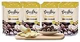Tru Fru Dark Chocolate Dipped Freeze-Dried Fruit, 12-Pack Grab & Go, Banana
