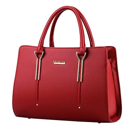 fanhappygo - Bolsa Mujer rojo