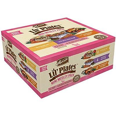 Merrick Lil' Plates Small Breed Grain Free Mini Medley Pack Wet Dog Food