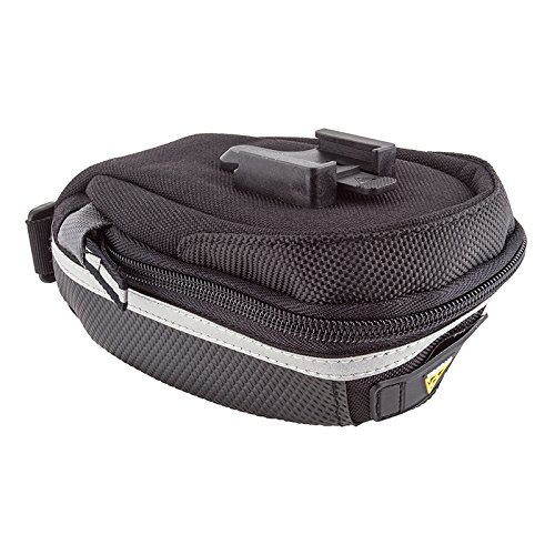 (Topeak Wedge Pack II Seat Bag with F25 Fixer and Rain Cover, Small )