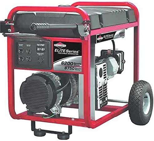 Amazon.com: Briggs & Stratton Elite Series Generador 6200 W ...