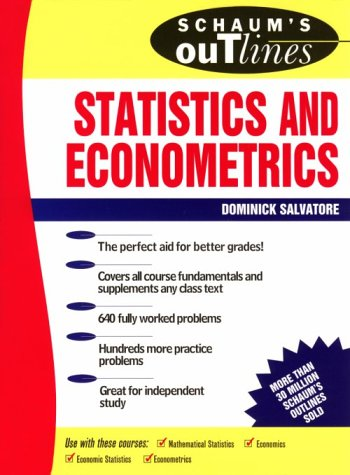 Download Schaum's Outline of Statistics and Econometrics (Schaum's) (Schaum's outline series) pdf
