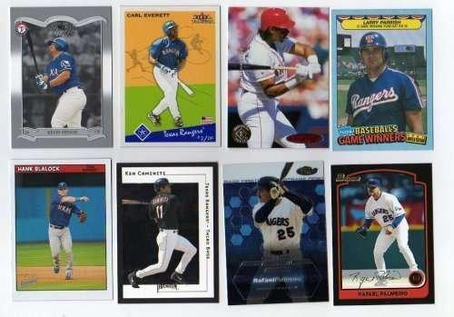 (100 Assorted Texas Rangers Baseball)