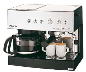 Magimix 11407 Independiente - Cafetera (Independiente, Cafetera combinada, 1,4 L, De café molido, Cromo)