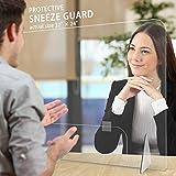 "Sneeze Guard, LeStore 32""x 24"" Inch Acrylic"