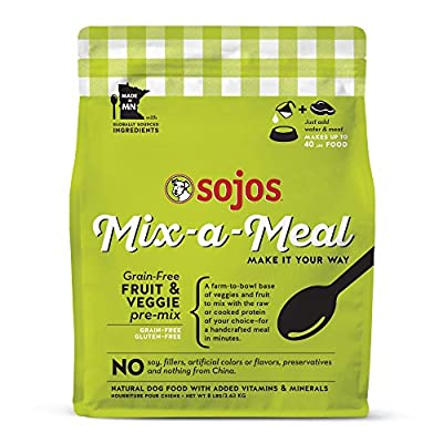 Sojos Mix-A-Meal Pre-Mix Natural Dehydrated Dog Food
