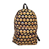 Anyshock Casual Canvas Travel School College Backpack/bookbags/daypack for Teenage Girls/students/women (Emoticon2)