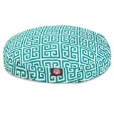 Pacific Towers Medium Round Indoor Outdoor Pet Dog Bed With Removable Washable Cover By Majestic Pet Products by Majestic Pet