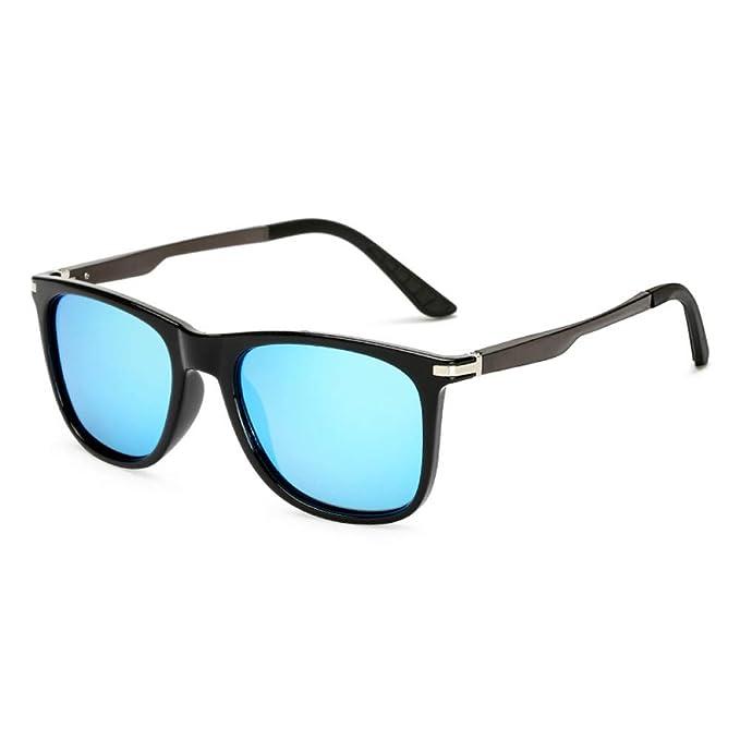 Amazon.com: YLNJYJ Gafas De Sol Unisex De Aluminio Retro Con ...