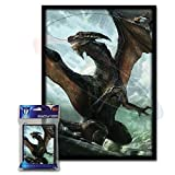 (100) Max Protection Another Rough Day Design Large Gaming Trading Card Protector Sleeves for Magic the Gathering, Pokemon, World of Warcraft, Kaijudo Duel Masters and Cardfight Vanguard Cards