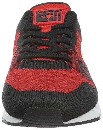 560 flame Multicolor Unisex red Zapatillas adulto Mehrfarbig Woven KangaROOS Omnicoil Black wCv4qnO