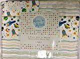Max N Mitch 4 pc Space Ships/Rockets/Solar System TWIN Sheet Set