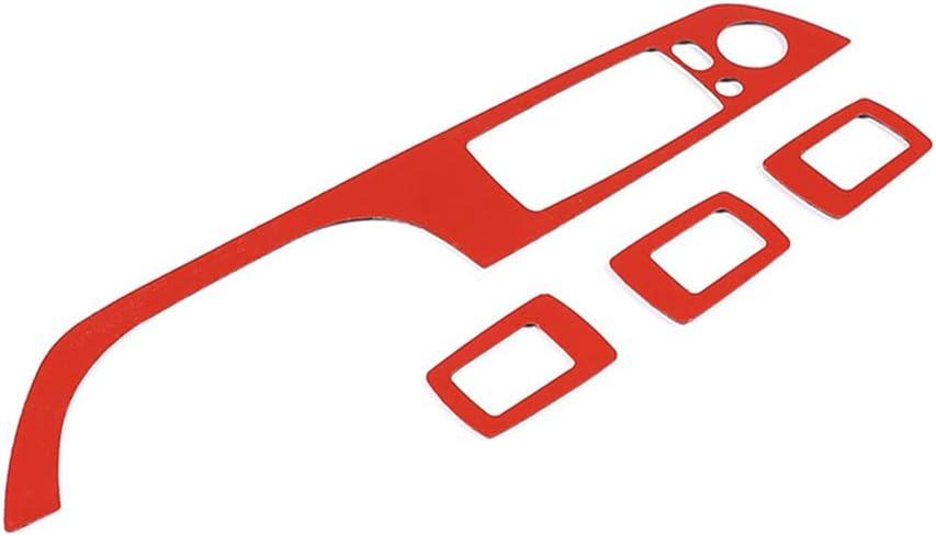 DIYUCAR Soft Carbon Fiber For E90 E92 E93 3 Series 2005-2013 Car Window Lift Button Frame Trim Accessories Left hand drive