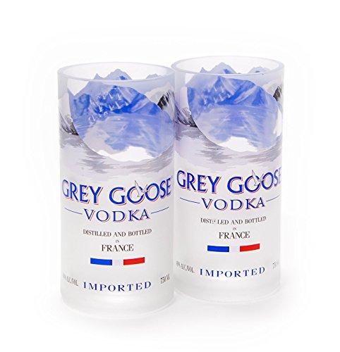 Grey Goose Vodka Bottle Tumblers
