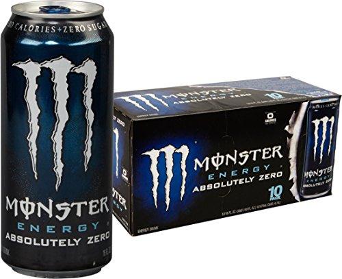 Monster Energy Absolutely Zero Ounce