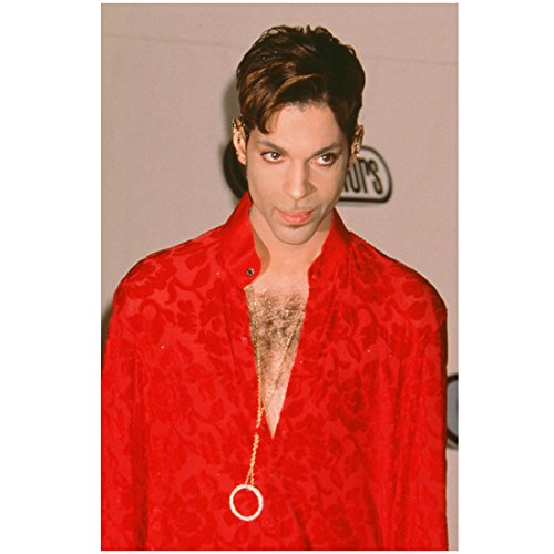 (Prince Standing Head Tucked Down Slightly Deep V Chest 8 x 10 Inch Photo)