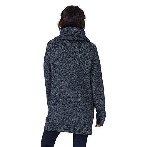 Burton Sudadera Avalanche Sweater Azul azul oscuro jaspeado Talla:S azul oscuro jaspeado
