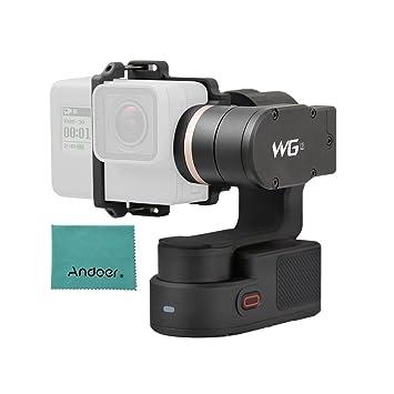 FeiyuTech WG2 3-Axis Cardán Usable Impermeable Ayuda Control Remoto Inalámbrico App para GoPro hero5