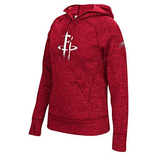 NBA Houston Rockets Women's Team Logo Fleece Pullover Hoodie, Small, -