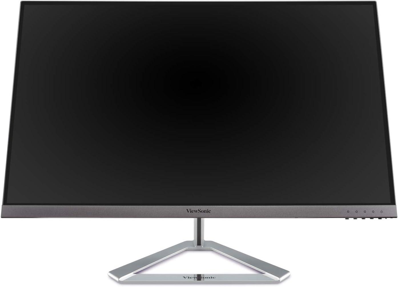 ViewSonic VX3276-2K-MHD 32 Inch Frameless Widescreen IPS 1440p Monitor with HDMI DisplayPort and Mini DisplayPort