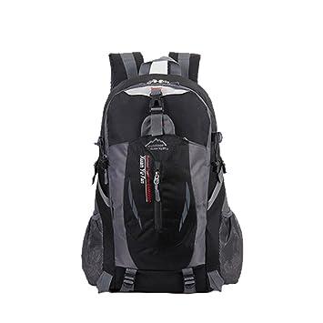 Mochila de senderismo mochila 40L resistente al agua senderismo mochila montañismo mochila para viaje escalada ciclismo running Camping Deportes al aire ...