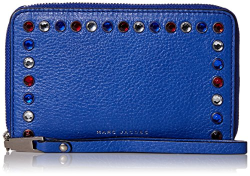 Marc Jacobs Pyt Slgs Zip Phone Wristlet, Cobalt Blue, One Size by Marc Jacobs