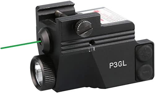 HiLight P3GL Flashlight & Green Laser Sight Combo