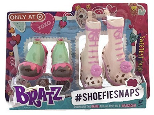 Exclusive 2016 Valentine's Day Bratz Shoefie Snaps Shoe Pack