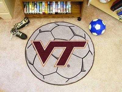 Virginia Tech Soccer Ball (Virginia Soccer Ball Rug)