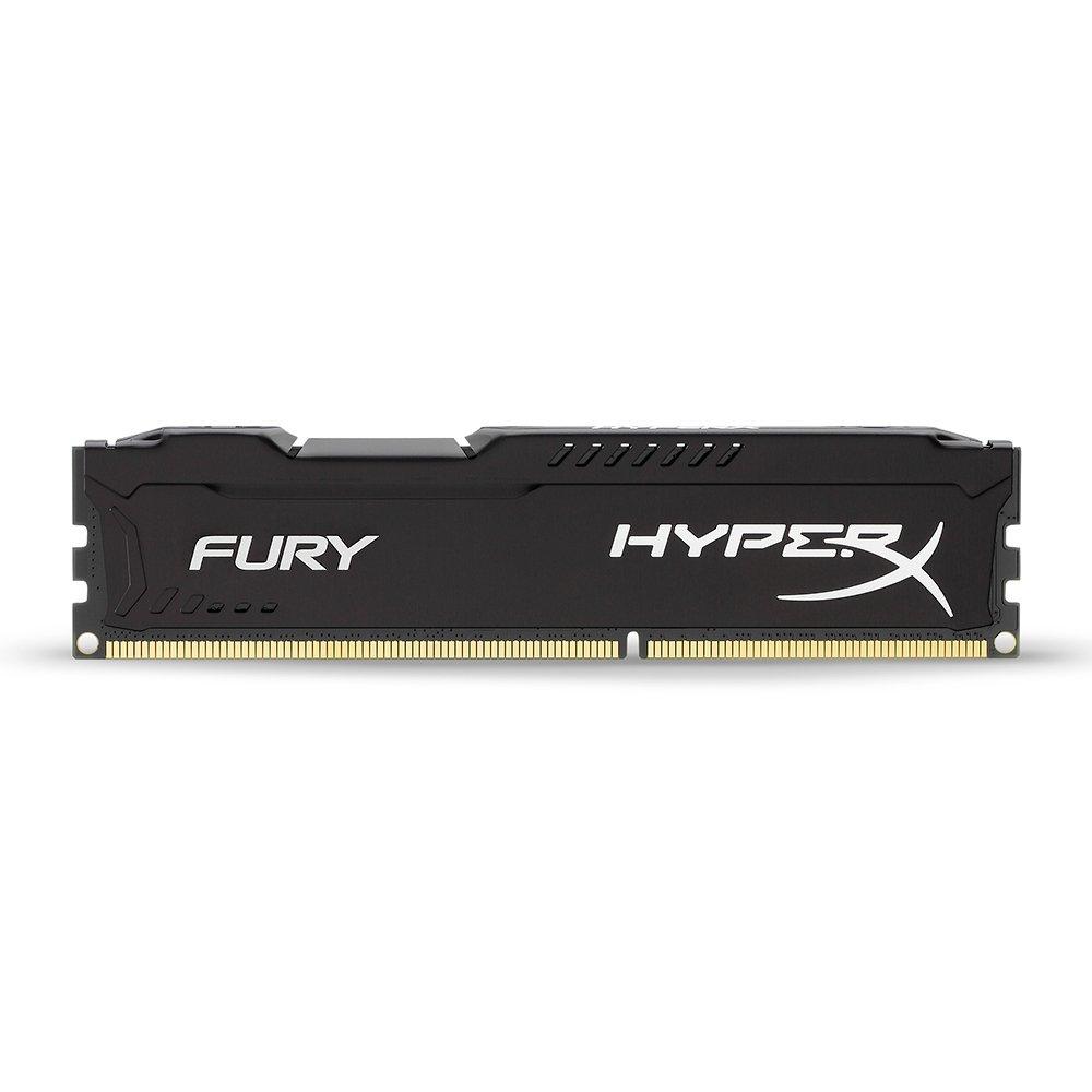 Kingston HyperX FURY 8GB Kit (2x4GB) 1600MHz DDR3 CL10 DIMM - Black (HX316C10FBK2/8) by HyperX (Image #3)