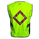 WildSaver Triple Vis Led Vest with Lights & Reflective Strips USB Rechargeable High Visibility with Pockets for Men and Women. Night Safety for Cycling, Running,Jogging, Walking, Multi Use. (Large) Review
