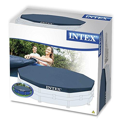Intex 28030 cobertor para piscina met lica metal frame for Piscina metalica