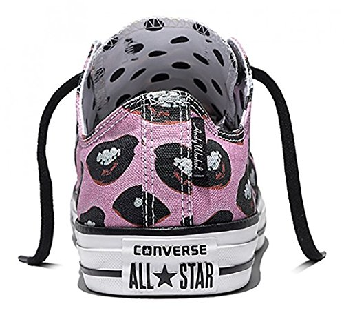Converse Chuck Taylor All Star Lo Top Blanco / Negro / Violeta