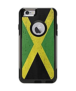 Countries of The World OtterBox Commuter iPhone 6 Skin - Jamaica Flag Distressed