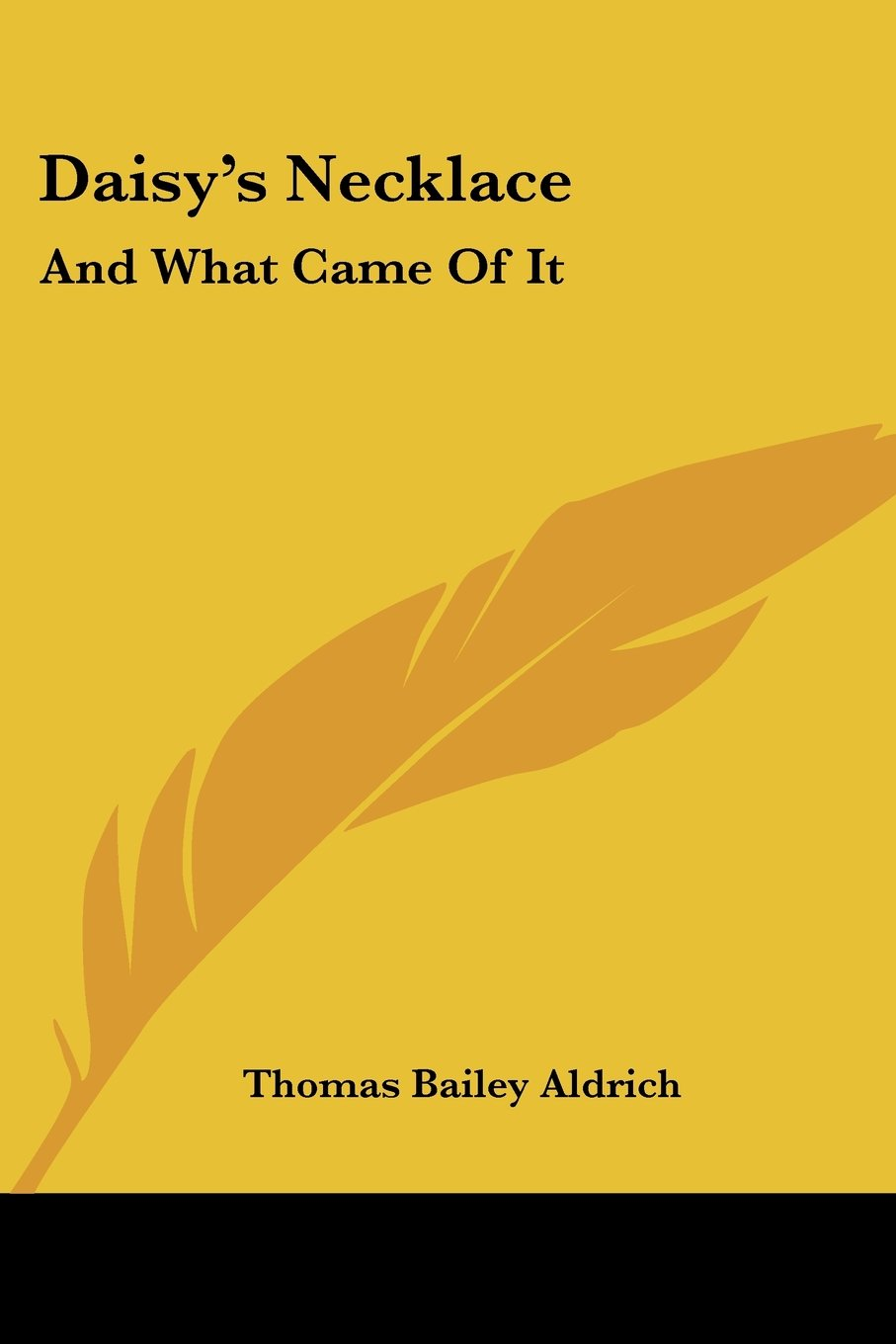 Daisy's Necklace: And What Came Of It PDF