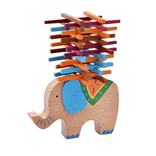 Kennedy Children Balance Beam Elephant/ Camel Colorful Bl...