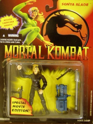Mortal Kombat Sonya Blade Special Movie Edition Figure 1994 by hasbor for $<!--$15.00-->