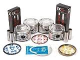 b18b1 bearings - Evergreen PSBR4011/0/0/0 90-01 Acura Integra GS LS RS 1.8L B18A1 B18B1 Engine Piston Set Main Rod Bearings