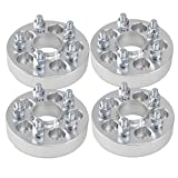 (4) 1'' (25mm) Wheel Adapters 5x100 to 5x112 Hubcentric fits VW Audi 5 Lug Models