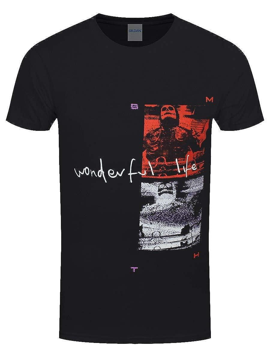 Bring Me The Horizon T-Shirt Wonderful Life da Uomo in Nero
