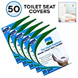 Disposable Toilet Seat Covers, Travel, Office, Potty Training. 50 Covers: more info