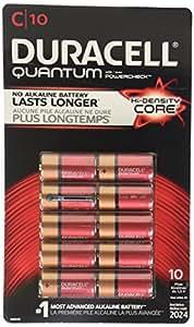 Duracell Quantum Pilas C, 10 pilas