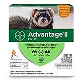 Advantage II Flea Prevention for Ferrets, Over 1