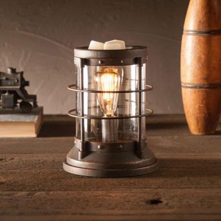Safe Clean Heat Source Nautical Wax Warmer, Bronze