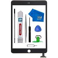 MMOBIEL Digitizer Display Glas für IPad Mini 3 (Schwarz) 7.9 Inch Touchscreen Ersatzteil Inkl Flex + Kamera Halterung + Klebesticker und Werkzeugset mit Anleitung