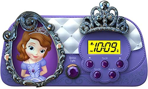 Sofia the First Night Glow Character Alarm Clock SF-346